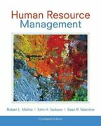 Human Resource Management By Robert L. Mathis And John H. Jackson - Hardcover Mint