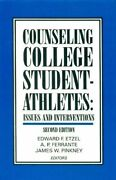 Counseling College Student-athletes Issues And By Edward F. Etzel And A. P.