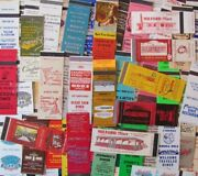 Diners Lot Of 102 Different Matchbook Matchcovers -e 7