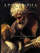 Apocrypha Seventeen Pseudepigrapha Books Large Print By Unknown Authors New