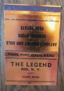40 Strike The Legend General And Antiques Store Rio - Port Jervis New York -f9