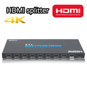 Hdmi Splitter 1 In 8 Out Full Ultra Hd For Blu-ray Players Hdtv 4k Hdmi Switcher