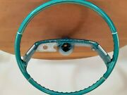 1961 Chevrolet Impala Ss Steering Wheel With Horn Assembly. Original Unrestored