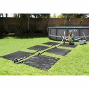 Solar Mat Above Ground Swimming Pool Water Heater For 8,000 Gph Pool Intex 28685