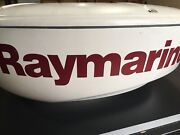 Raymarine E92132 Rd424d 4kw 24 Digital Radome For Parts/non-working
