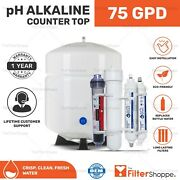 Counter Top Ph Alkaline Mineral Reverse Osmosis Drinking Water System