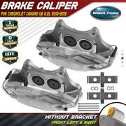 2pcs Disc Brake Caliper For Chevrolet Camaro 2010-2015 6.2l Front Left And Right