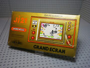Mickey Mouse Mc-25 - Nintendo Game And Watch J.i 21 - 1981 - Boandicircte And Notice