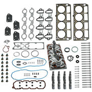 Engine Gasket And Lifters And Trays And Head Bolts Set For Chevy For Gm 5.3l 2005-2014
