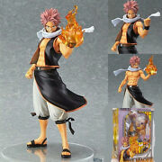 Anime Fairy Tail 9'' Natsu Action Figures Pvc Dolls Model Toy Gift Collectable