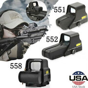 Red/green Dot Holographic Sight 551/552/558/hd103 Tactical Airsoft Scope Sight