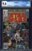 Star Wars 2 1977 Cgc 9.6 White Pages - 1st Obi-wan Han Solo Chewbacca