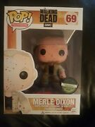 Funko Pop The Walking Dead Merle Dixon Bloody Limited Edition Exclusive 69