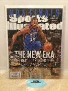 June 2012 Sports Illustrated Kevin Durant Autograph Psa Graded