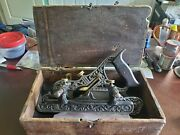 Stanley Millers Patent No 41 Plane Filletster Bed 2 Fences 9 Cutters Type 2 3