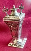 Rare Antique Victorian Sterling Silver Table Top Cigar Lighter William Comyns