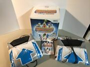 Wii Dance Dance Revolution Disney Grooves Complete Video Game With 2 Mats