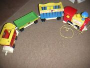 1973 Fisher Price Little People Circus Train Set 991 W Conductor