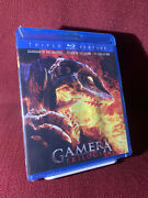 Gamera Trilogy Blu-ray 2011 Oop Mill Creek Triple Feature Sealed Free Shipping