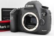 Top Mint Canon Eos 5d Mark Iii Camera Body Shutter Count 18100 From Japan Ce06