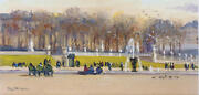 Luxembourg Gardens Paris By Annie Puybareau French Landscape From Christieand039s