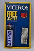 New Nos Vintage Viceroy Cigarettes Lighter Disposable Butane Free Shipping