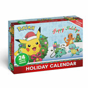 Pokemon Holiday Christmas Advent Calendar 24 Gifts Inside In Hand Ships Today