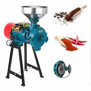 Wetanddry 110v 2.2kw 1400r/min Electric Feed/flour Mill Cereals Grinder Grain Corn