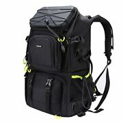 Extra Large Camera Dslr/slr Backpack For Outdoor Hiking Trekking With 15.6