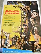 The Haunted Palace French Movie Poster Original 4763 1963 Corman Price