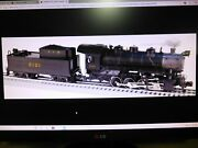 Lionel 6 1250 L And N 0-8-0 Big O148 Scale New In Shipping Carton For Atlas.