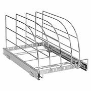 Pull Out Organizer Rack For Bakeware - Sliding Kitchen Cabinet Organizers And...