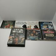 Star Wars Original Pc Games Windows 95+ In Cases And Dvds Dark Forces Lot Of 7