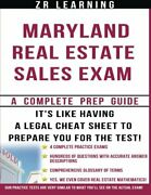 Maryland Real Estate Sales Exam - 2014 Version By Z R Learning