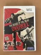 House Of The Dead Overkill Nintendo Wii Game Complete - Great Condition