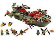 Lego Legend Of Chima 70006 Craggerand039s Command Ship With Manuals And Minifigures