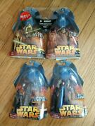Lot Of Star Wars Revenge Of The Sith Action Figures Unopened By Hasbro 2005
