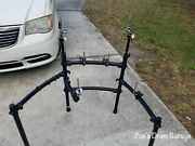 Roland Mds-9v V-drum Rack W/3 Pad Mounts, 1 Ball Mount, And 2 Cymbal Arms - 060121