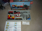 Vintage Lego Battery Train Set 7722 With Box From 1985, Incomplete Set