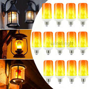 E27 Led Flame Effect Fire Light Bulb Flickering Party Lamp Simulated Decorative