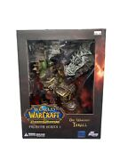 World Of Warcraft Premium Series 2 Orc Warchief Thrall New In Package