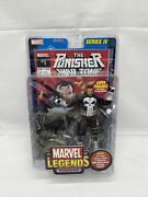 Marvel Legends Series 4 The Punisher W/ 32 Page Comic Book New