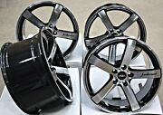 18 Roues Alliage Cruize Blade Bp + 245 And 265 Pneus Pour Ford Mustang