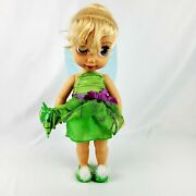 Disney Store Animators' Collection 16 Tinker Bell W Animal Friend Toddler Doll