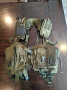 Early London Bridge Trading Lbt Od Green Chest Rig Navy Seal Used