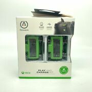 Powera Xbox One Play And Charge Kit 2 Batteries Plus Charging Cable Open Box
