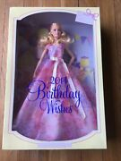 Barbie Birthday Wishes 2014 Doll Collector Bcp64 - Mattel 2013 New