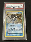 Suicune Gold Star Holo Pokemon Ex Unseen Forces 115/115 Psa 9 Mint
