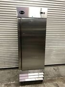 1 Door Refrigerator Reach In Upright Stainless Steel Cold Nsf Saba St-23r 6133