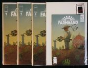 Farmhand Spec Pack 1 X3 And Signed Ashcan - Optioned